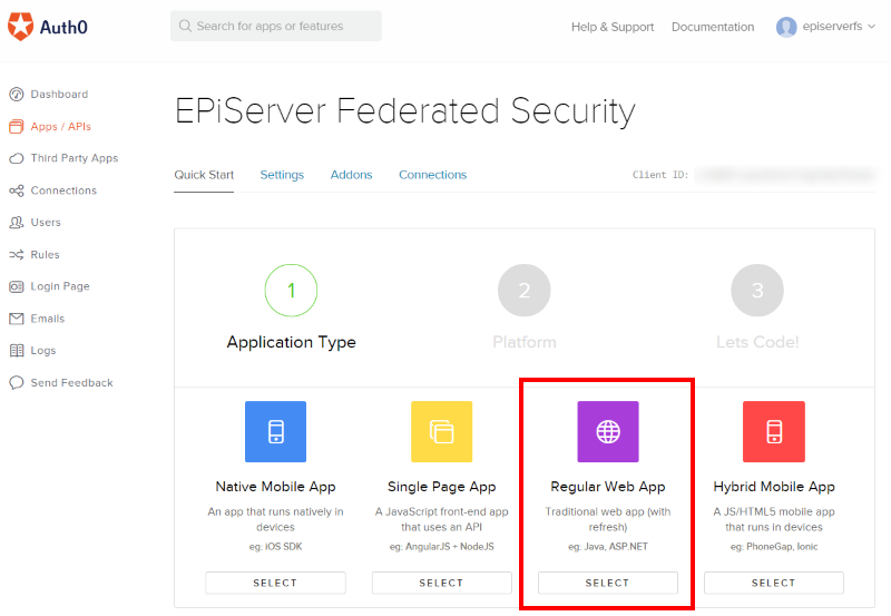 Implementing federated security in EPiServer using Auth0 | david-tec com