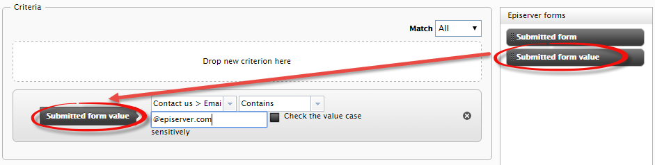 Submitted Form Value Visitorgroup